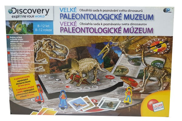 EP Line Discovery paleontologie