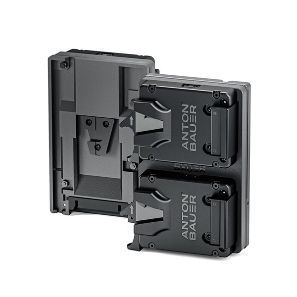 Anton Bauer Dual Micro V-Mount Plate to V-Mount