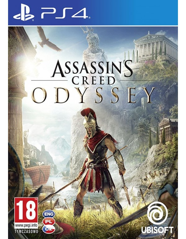 PS4 Assassinc Creed Odyssey
