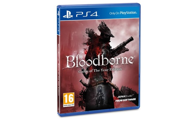 PS4 Bloodborne Game of the Year