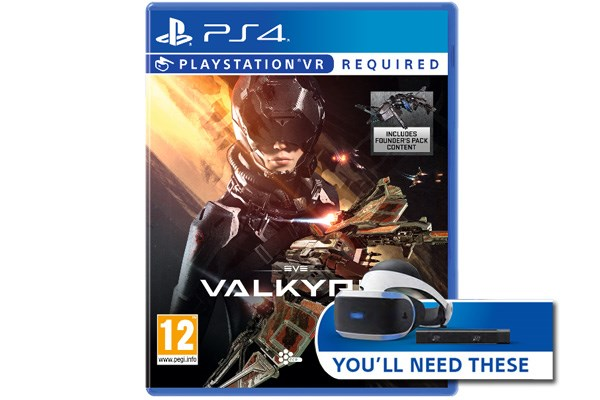 PS4 Eve Valkyrie VR