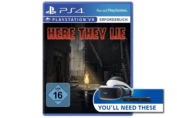 PS4 Here They Lie VR