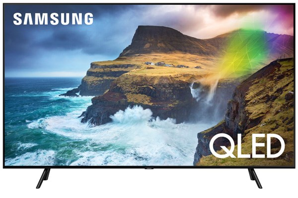 uhd qled televize samsung qe49q70r s rozli en m 4k o hlop ce 123 cm elvia pro. Black Bedroom Furniture Sets. Home Design Ideas