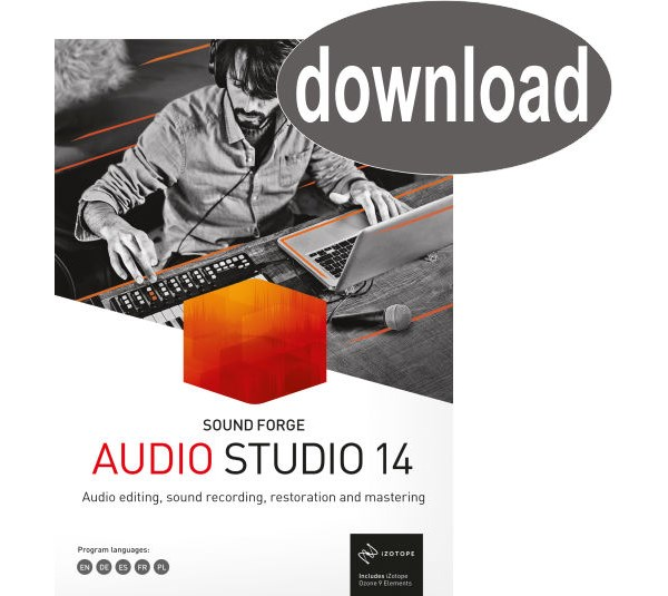 Sound Forge AUDIO STUDIO 14 ESD