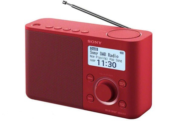 SONY XDR-S61DR RED