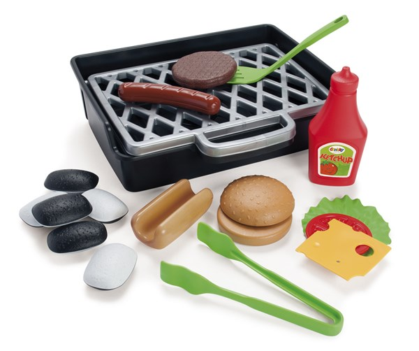 Alltoys Gril set hamburger + hot dog
