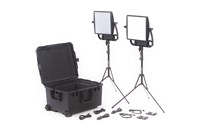 Litepanels Astra 6X + Astra Soft Traveler Duo V-Mount Kit