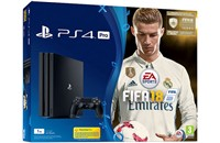 PLAYSTATION 4 PRO 1TB Black + FIFA 18