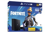 PLAYSTATION 4 PRO 1TB Black + Fortnite