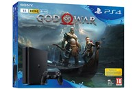 PLAYSTATION 4 1TB SLIM Black + God of War