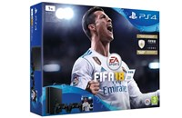 PLAYSTATION 4 1TB SLIM Black + FIFA 18 + 2x Dualshock