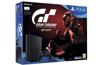 PLAYSTATION 4 1TB SLIM Black + GT Sport