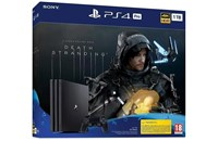 PLAYSTATION 4 PRO 1TB Black + Death Stranding
