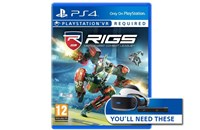 PS4 Rigs Mechanized Combat League VR
